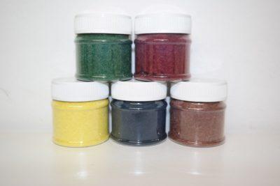 Kleurmengvezels voor stof & veloursreparatie