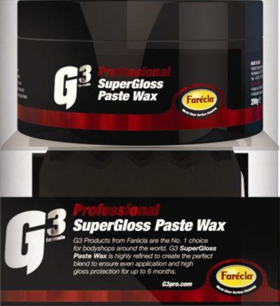 G3 Formula Super Gloss Paste Wax