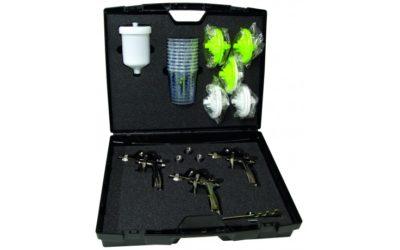Finixa verfspuitpistolen set in luxe koffer