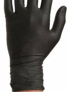 Colad Disposable Nitril handschoenen Zwart